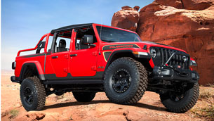 jeep red bare: one more exclusive vehicle in a special lineup