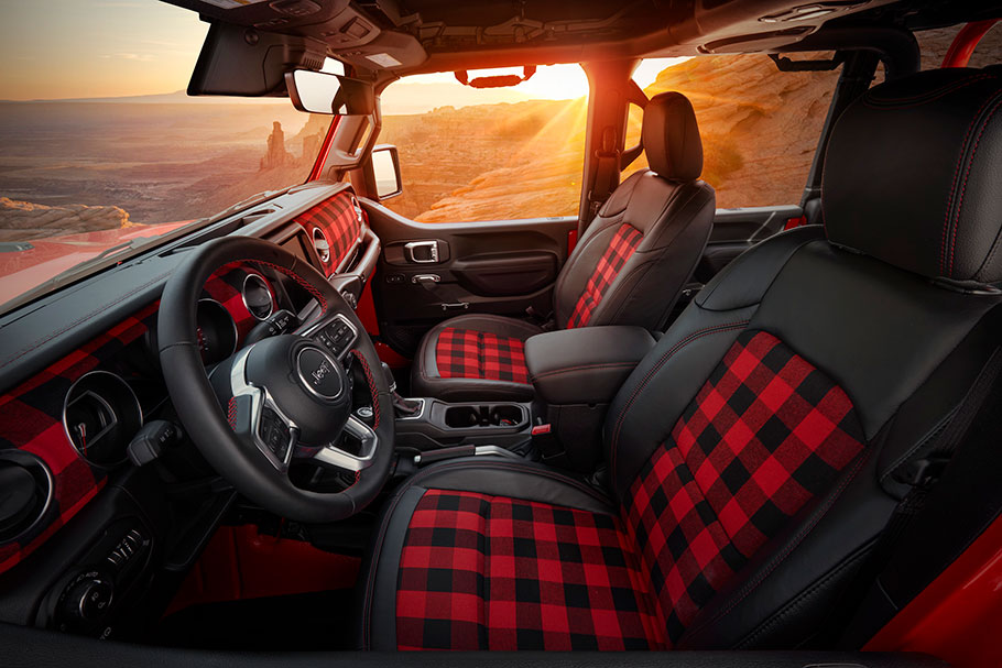 2021 Jeep Red Bare