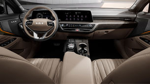 kia team showcases new images of k8's interior