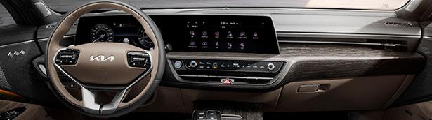 Kia team showcases new images of K8's interior