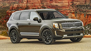 Kia Telluride is named Best 3-Row SUV for Families