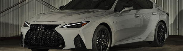 Lexus reveals first details of the new F SPORT Launch Edition
