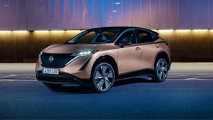 Nissan praises the advanced Ariya lineup with new exclusive body finishes
