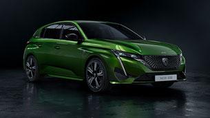 PEUGEOT reveals the striking new 308 model