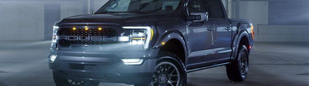 ROUSH reveals its new tuning project. It involves an F-150 this time