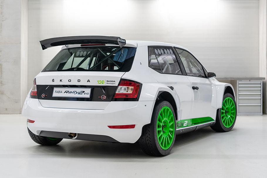 2021 SKODA Fabia Rally2 Edition 120