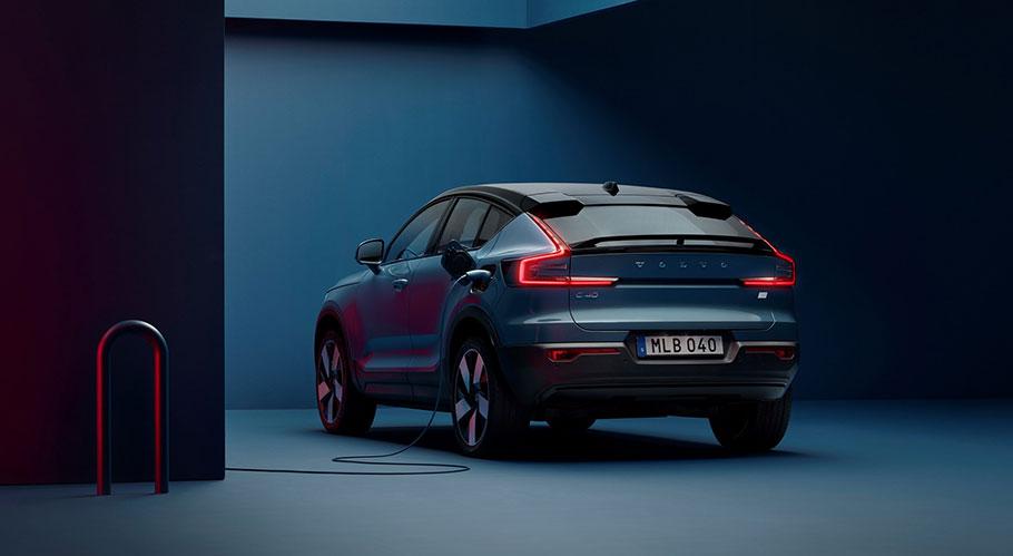 2021-Volvo-C4-Recharge-Rear