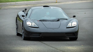 gordon murray team makes the first road test of the new t.50 supercar