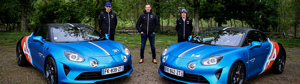 Alpine presents new A110 trackside cars