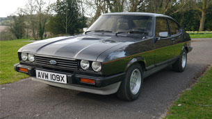 Henry Ford II's 1981 Ford Capri 2.8i will be auctioned this week