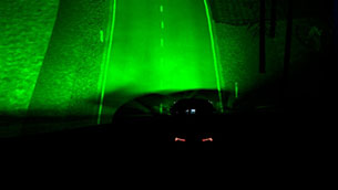 Ford works on a new illumination technology [VIDEO]