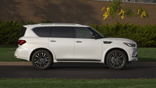 INFINITI QX80 is named winner at 2021 Kelley Blue Book 5-Year Cost to Own Award