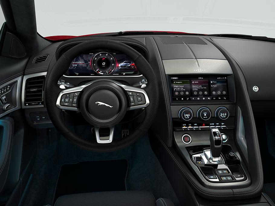 2021 Jaguar F-Type R-Dynamic Black Edition