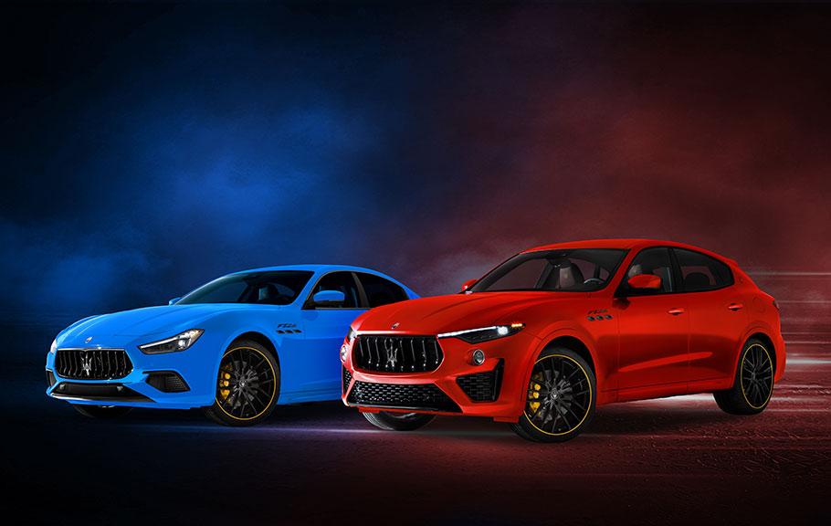 2021 Maserati F-Tributo Range