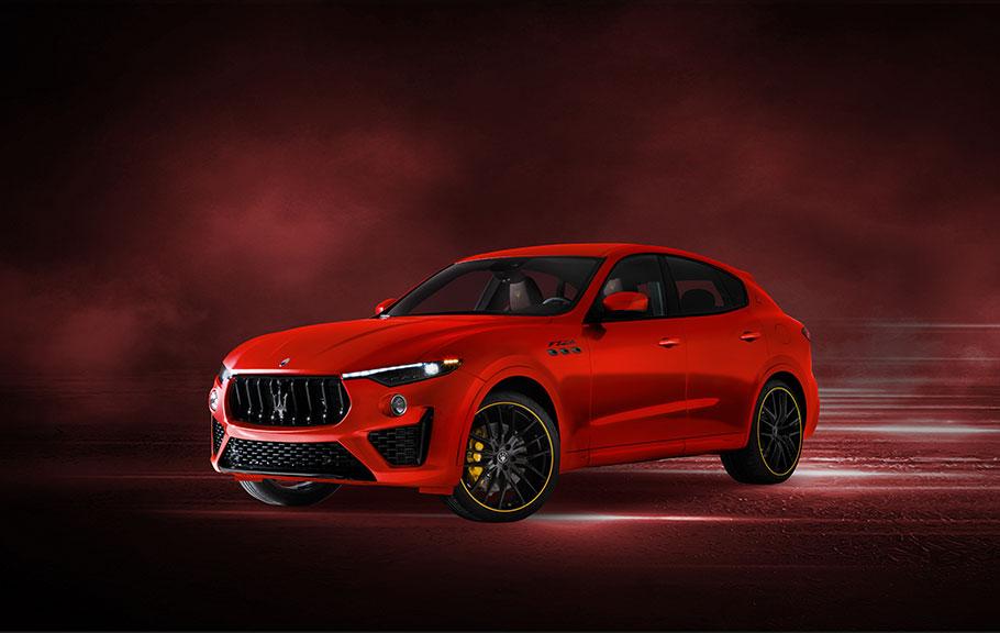 2021 Maserati F-Tributo Range Levante