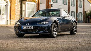 Mazda team presents a new special MX-5 edition