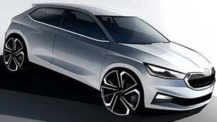 skoda-team-reveals-first-sketches-of-the-new-fabia-lineup.-check-them-out!-