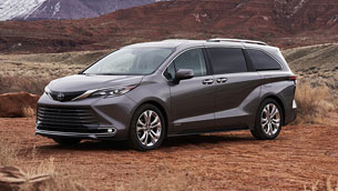 New Sienna Platinum kicks off Toyota Indiana's celebrations