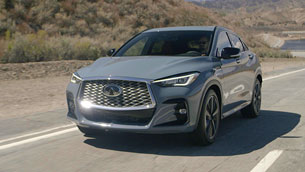 INFINITI reveals first details for the new QX55 crossover