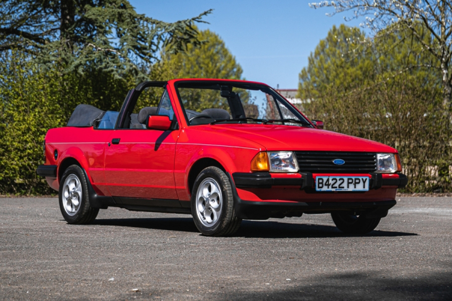 1985 Ford Escort 1.6 injection Cabriolet