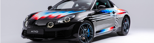 Alpine presents a new exclusive model designed by Felipe Pantone