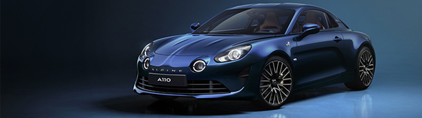 Alpine showcases the new 2021 A110 Légende GT