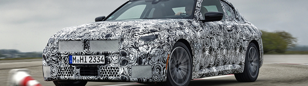 BMW team takes the new 2 Series Coupe for a test ride