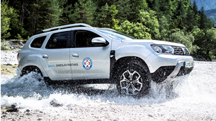 Dacia Duster ensures advanced mountain rescue support