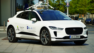Jaguar Land Rover and Google will measure the air quality in Dublin
