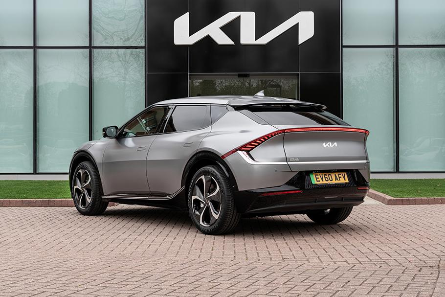 2021-Kia-EV6-Rear