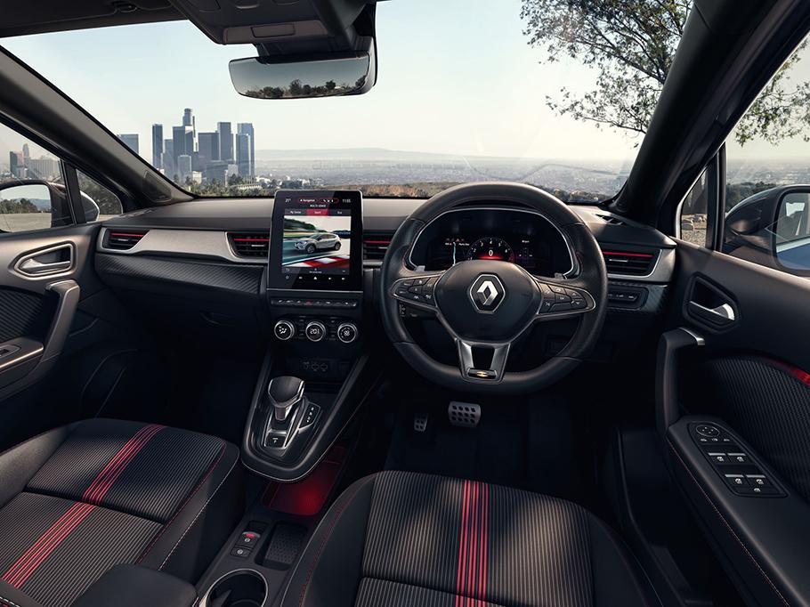 2021 Renault Captur Interior