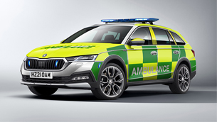 New Skoda Octavia Scout is available for the emergency teams