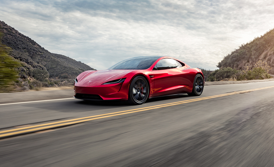 2021 Tesla Roadster Prototype