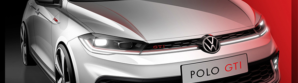 Volkswagen showcases the first image of the new Polo GTI. Check it out!