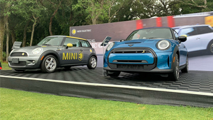 MINI showcases two special vehicles at the Concours d'Elegance