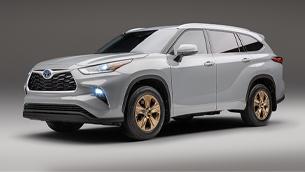 toyota reveals new highlander bronze edition model