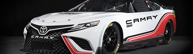 Toyota team reveals new TRD Camry racecar