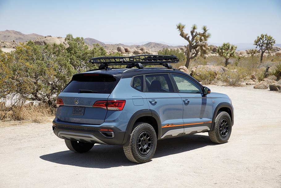 2022 Volkswagen Taos Concept