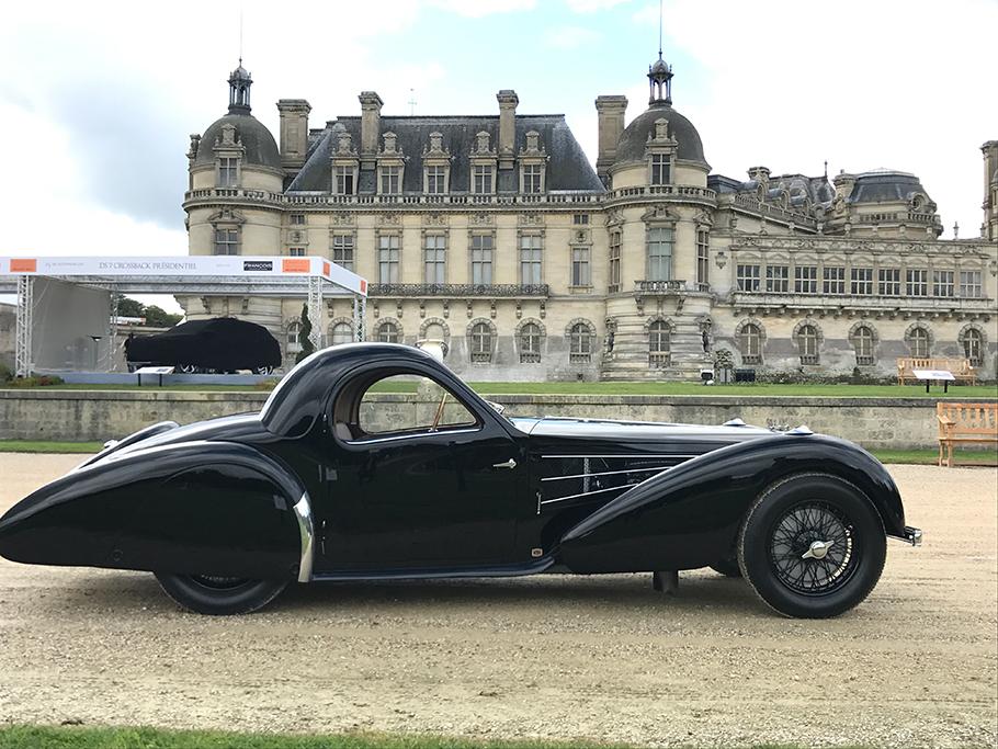 1937 Bugatti 57S Gangloff