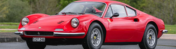 Here are some of the neat Ferraris showcased at an exclusive Silverstone Auctions event