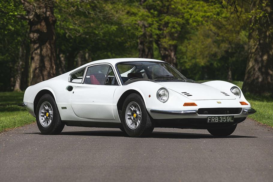 1972 Ferrari Dino 246 GT Matching Numbers