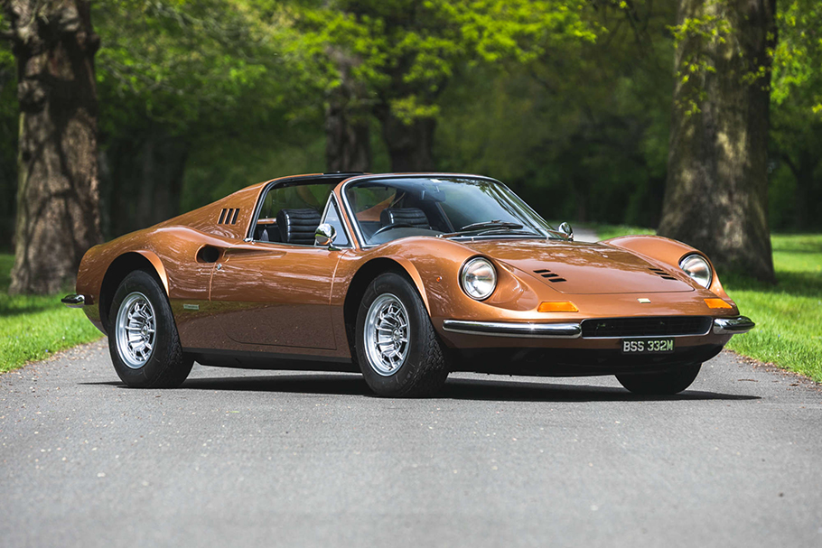 1974 Ferrari 246 Dino GTS RHD Factory Flares'Car