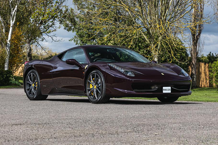 2010 Ferrari 458 Italia DCT