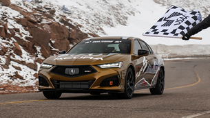 Acura team earns podium finishes at the 99th Running of Pikes Peak Hill Climb
