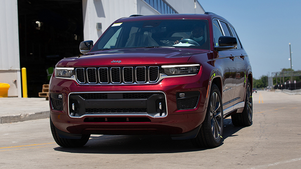 Jeep showcases details for the new Grand Cherokee L model