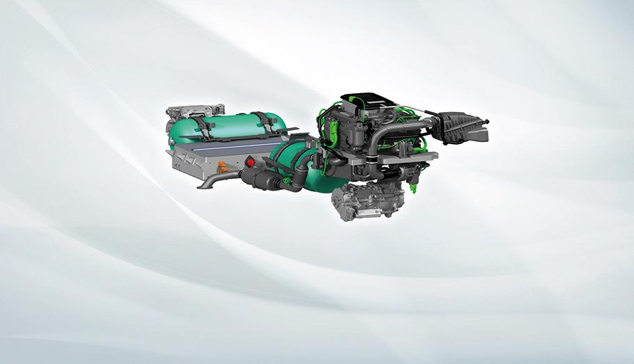 2021 Jaguar Land Rover Hydrogen Cell Technology