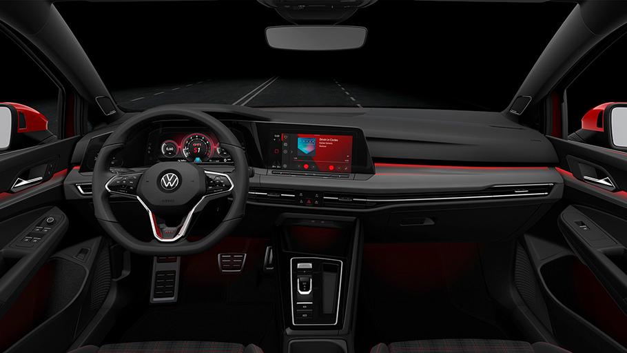 2021 Volkswagen GTI Interior