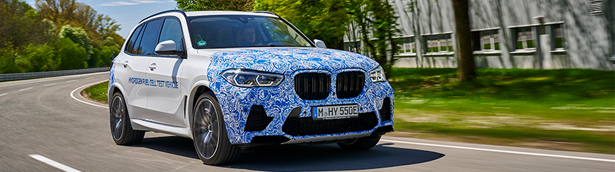 BMW Group begins testing of the i Hydrogen NEXT with hydrogen fuel cell engine