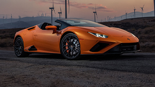 """Huracán EVO RWD Spyder wins """"Best Convertible for 2021"""" award by Robb Report"""