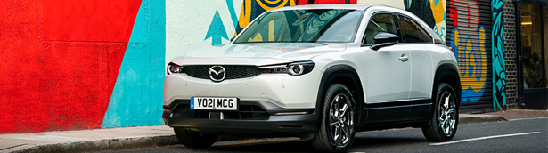 Mazda MX-30 is awarded Best Electric Compact SUV at the 2021 Diesel and Eco Car Magazine Awards